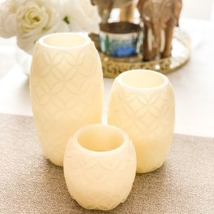 Flameless battery operated candles